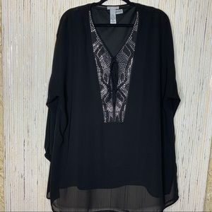 Catherines Dressy Sparkle Tunic